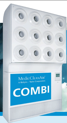 Instalatie de aer conditionat steril Combi 1.1